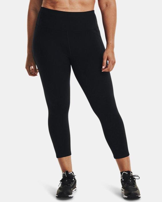 Women's UA Meridian Ankle Leggings, Black, pdpMainDesktop image number 0