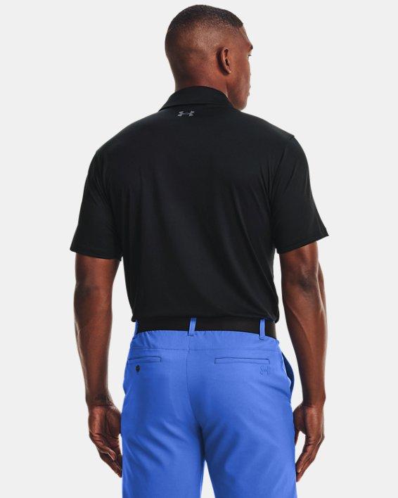 Men's UA T2G Polo, Black, pdpMainDesktop image number 1