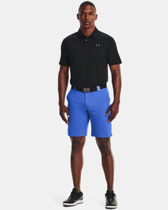 Men's UA T2G Polo, Black, pdpMainDesktop image number 2