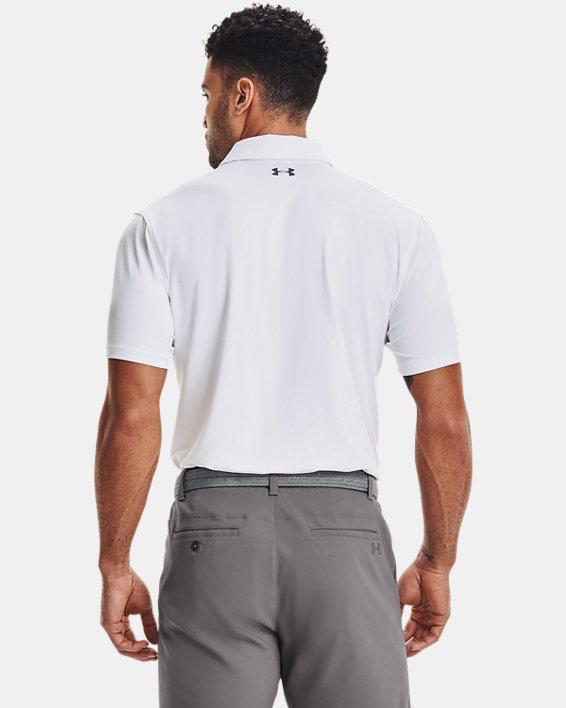 Men's UA T2G Polo, White, pdpMainDesktop image number 1