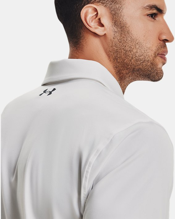 Men's UA T2G Polo, White, pdpMainDesktop image number 3