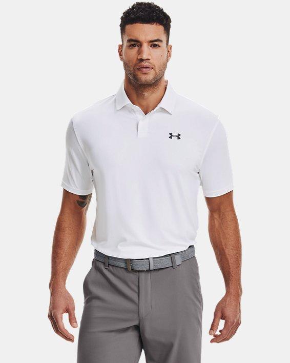 Men's UA T2G Polo, White, pdpMainDesktop image number 0