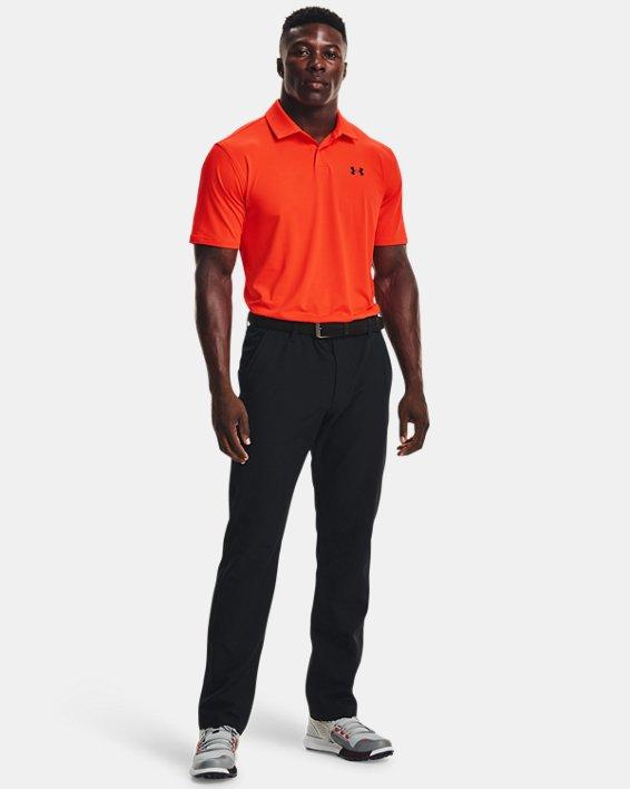 Men's UA T2G Polo, Orange, pdpMainDesktop image number 2