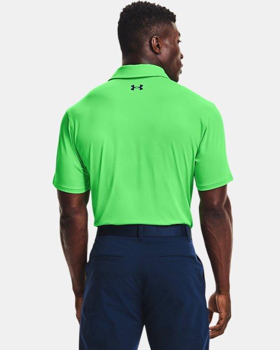Men's UA T2G Polo, Green, pdpMainDesktop image number 1