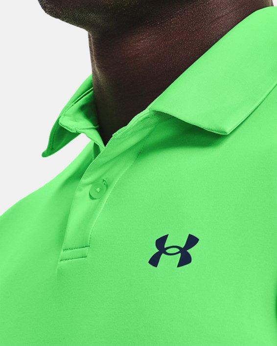 Men's UA T2G Polo, Green, pdpMainDesktop image number 3
