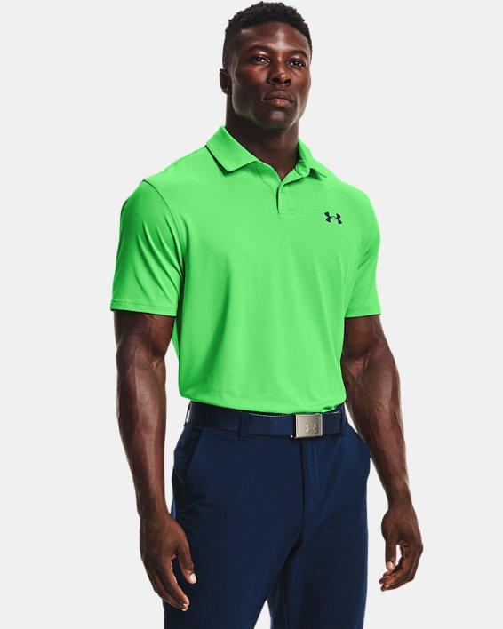 Men's UA T2G Polo, Green, pdpMainDesktop image number 0