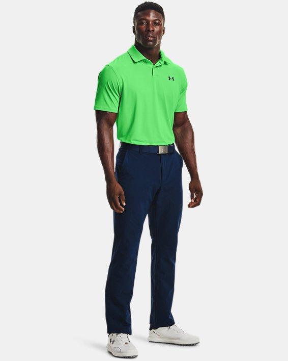 Men's UA T2G Polo, Green, pdpMainDesktop image number 2