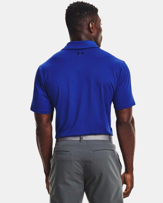 Herren UA T2G Poloshirt, Blue, pdpMainDesktop image number 1