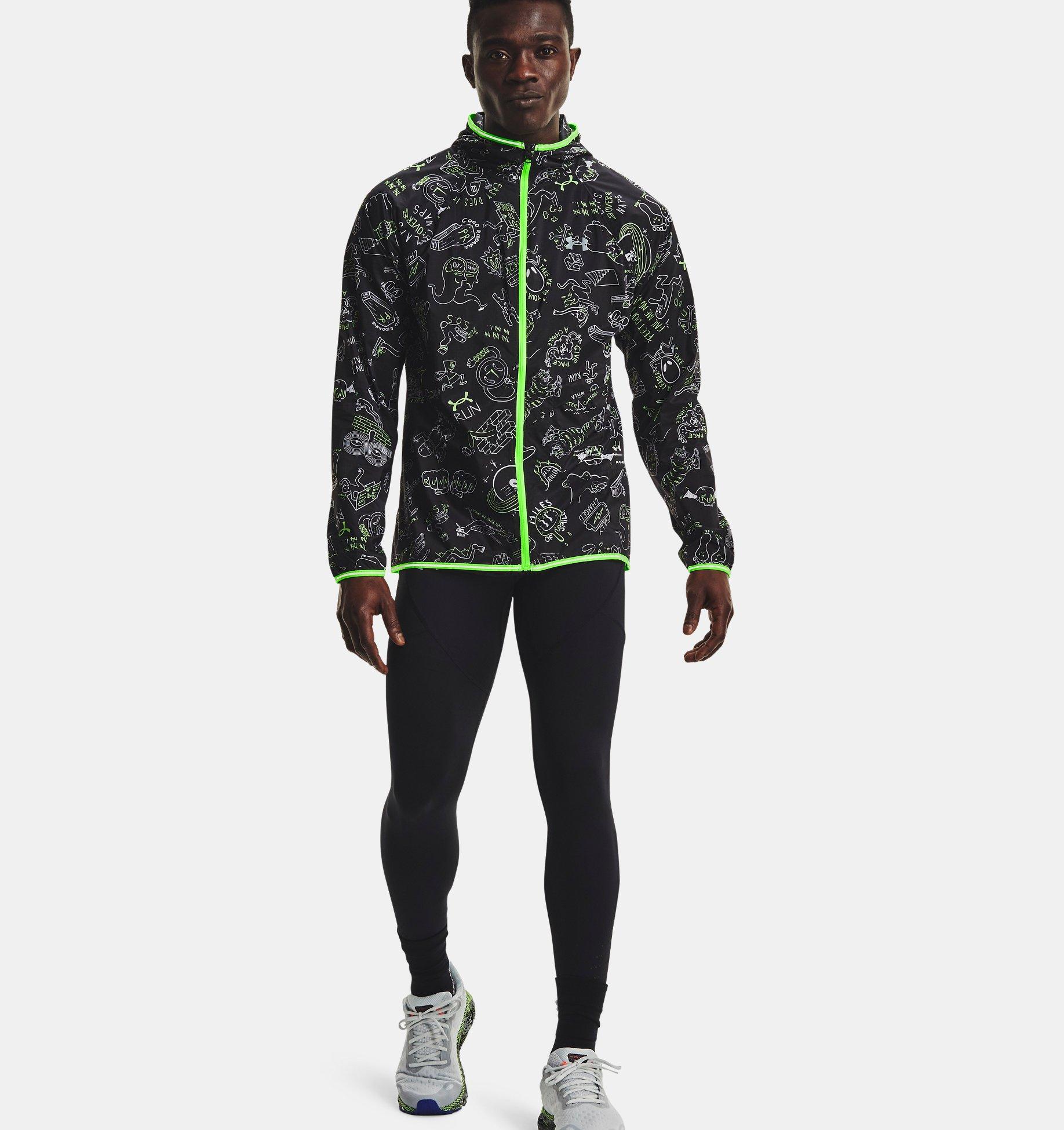 Underarmour Mens UA Run Hundred Packable Jacket
