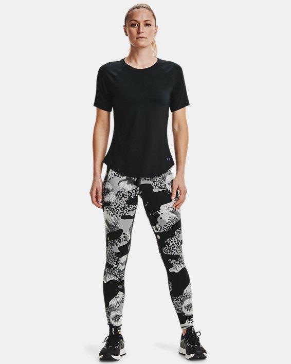 Women's UA RUSH™ Short Sleeve, Black, pdpMainDesktop image number 0
