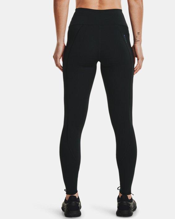 Women's UA RUSH™ No-Slip Waistband Full-Length Leggings, Black, pdpMainDesktop image number 2