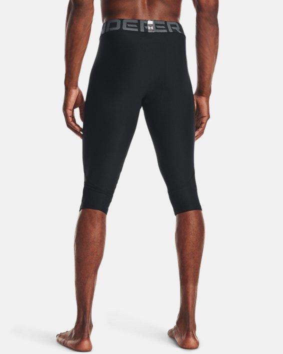 Men's HeatGear® Compression Knee Tights, Black, pdpMainDesktop image number 2
