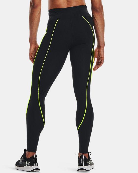 Women's UA RUSH™ HeatGear® No-Slip Waistband Mesh Pocket Full-Length Leggings, Black, pdpMainDesktop image number 1