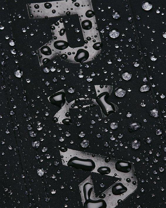 Women's UA RUSH™ Woven Full-Zip Jacket, Black, pdpMainDesktop image number 8