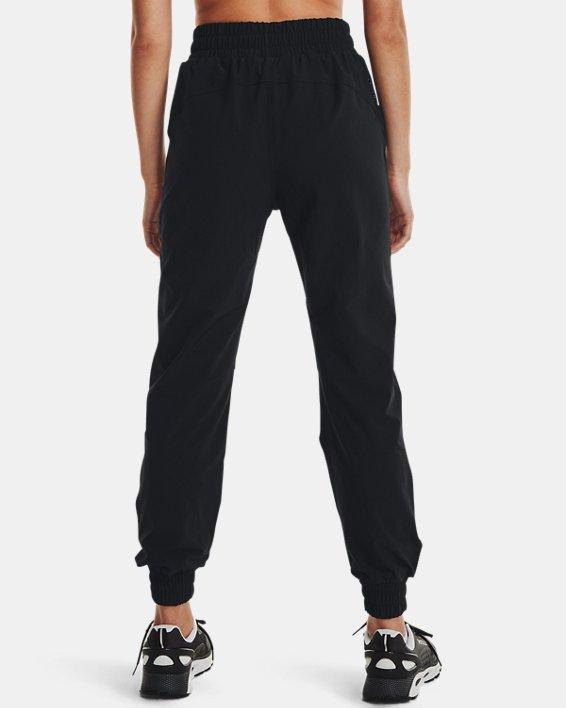Women's UA RUSH™ Woven Pants, Black, pdpMainDesktop image number 1