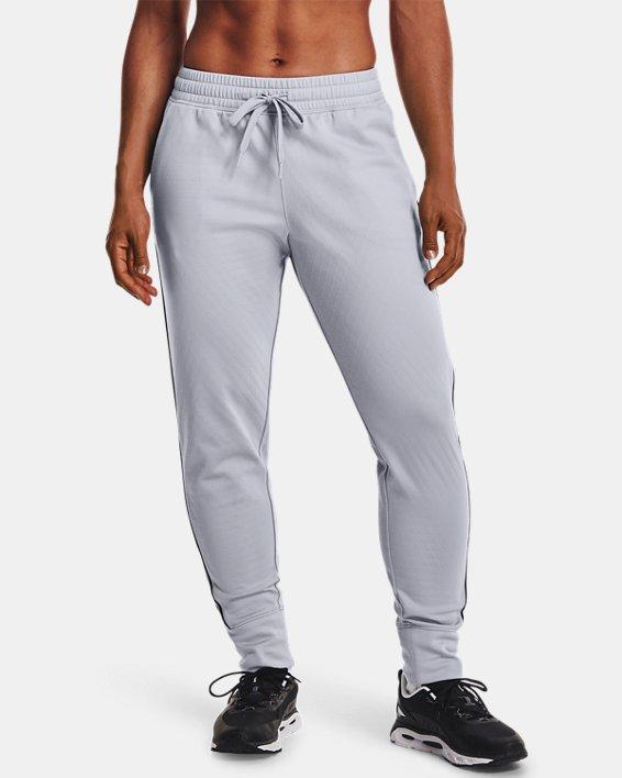 Women's UA RUSH™ Tricot Pants, Gray, pdpMainDesktop image number 1