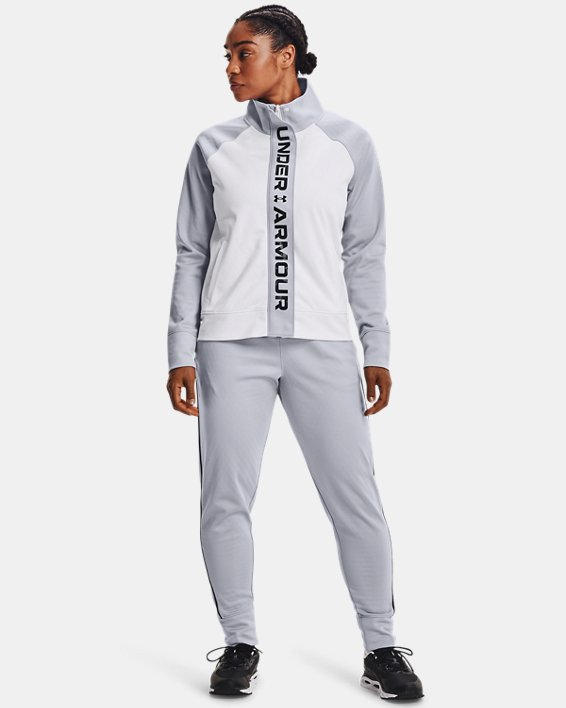 Women's UA RUSH™ Tricot Pants, Gray, pdpMainDesktop image number 0