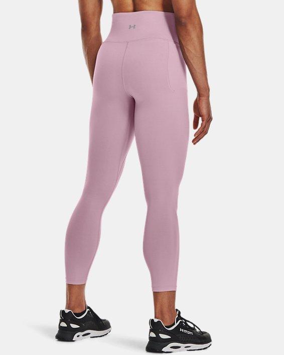 Women's UA Meridian Ankle Leggings, Pink, pdpMainDesktop image number 1
