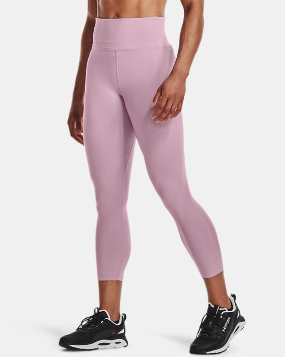 Women's UA Meridian Ankle Leggings, Pink, pdpMainDesktop image number 0