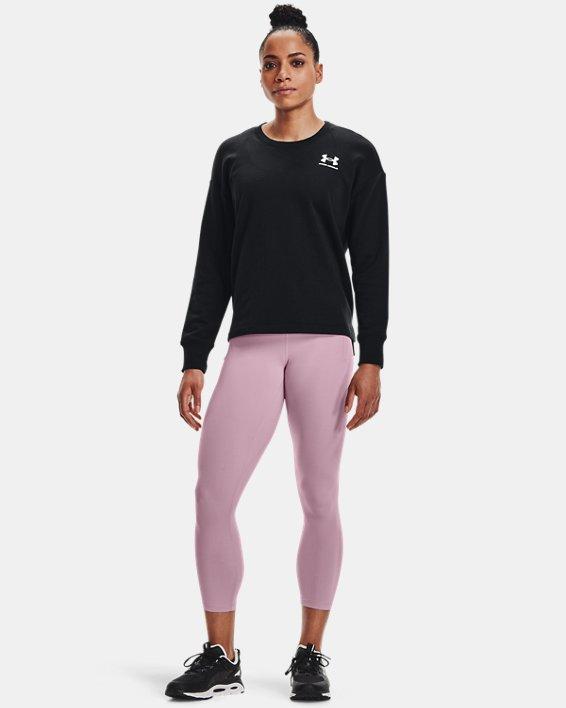 Women's UA Meridian Ankle Leggings, Pink, pdpMainDesktop image number 2