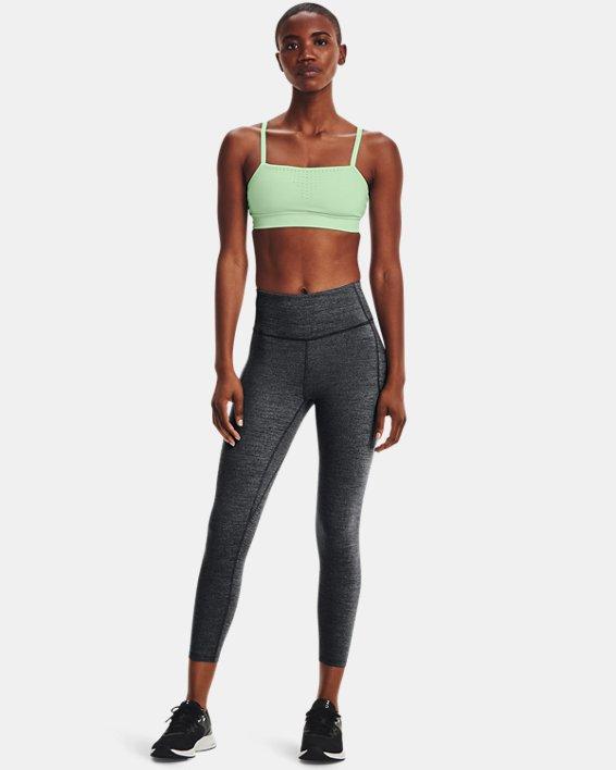 Women's UA Meridian Heather Ankle Leggings, Black, pdpMainDesktop image number 0