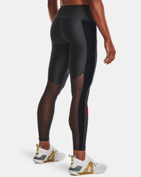 Leggings Project Rock HeatGear® para mujer, Gray, pdpMainDesktop image number 1