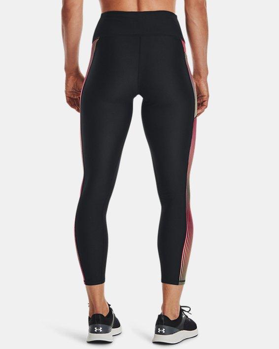 Damen HeatGear® Armour Panel Ankle-Leggings, Black, pdpMainDesktop image number 1