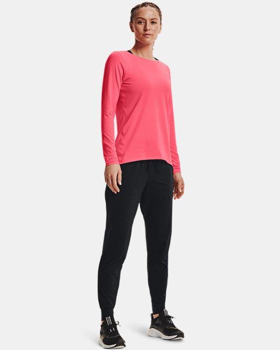 Women's HeatGear® Pants, Black, pdpMainDesktop image number 2