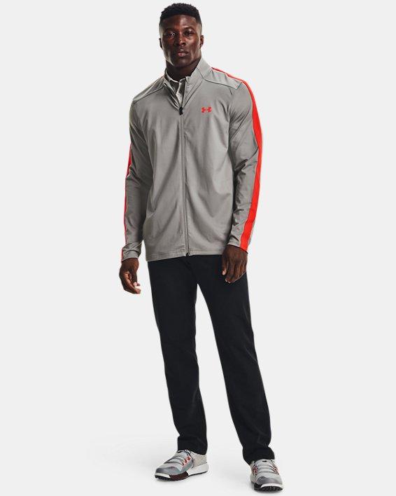 Men's UA Storm Midlayer Full-Zip Golf Jacket, Gray, pdpMainDesktop image number 2