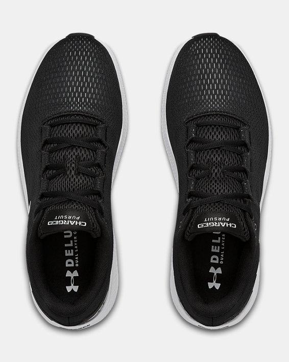 Men's UA Charged Pursuit 2 Running Shoes, Black, pdpMainDesktop image number 7