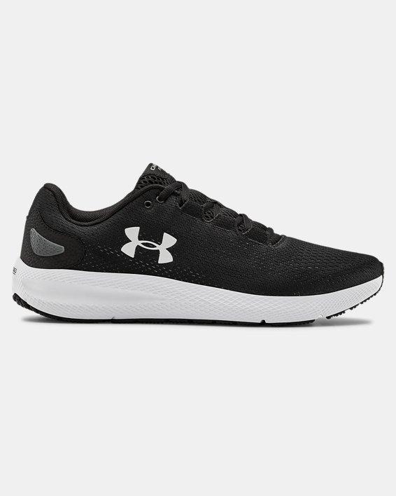 Men's UA Charged Pursuit 2 Running Shoes, Black, pdpMainDesktop image number 8