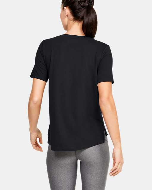 Women's UA Performance Cotton Collegiate T-Shirt