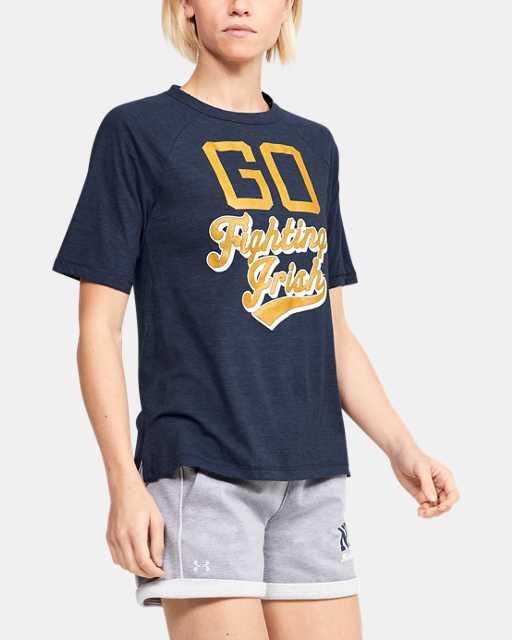 Women's UA Tri-Blend Collegiate T-Shirt