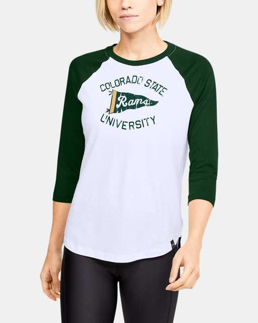 Women's UA Performance Cotton Baseball Collegiate T-Shirt