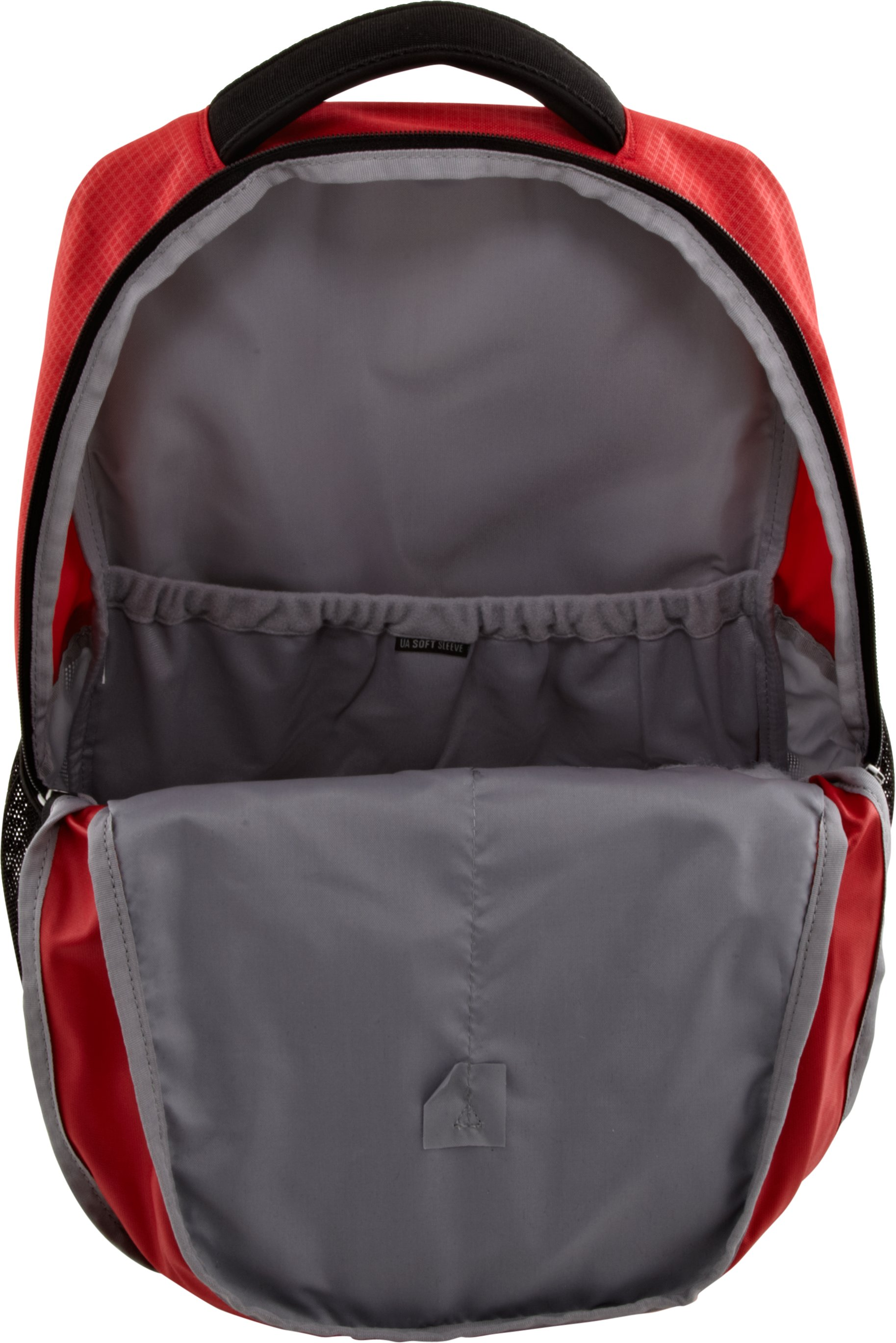 UA Hustle Storm Backpack, Red, undefined