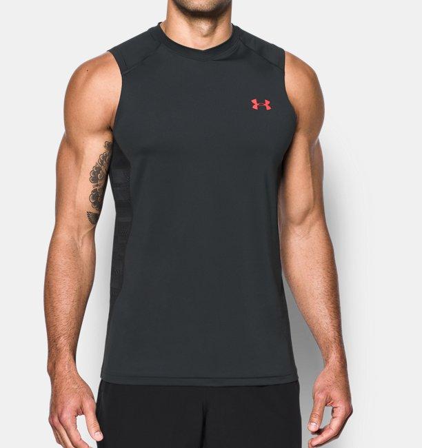 6bcbd93767f405 Under Armour Men s UA Raid Sleeveless T-Shirt Image