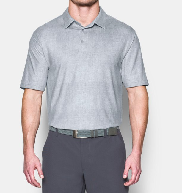 820fa47061 Under Armour Men's UA Playoff Crestable Tweed Polo | 1290221-100 ...