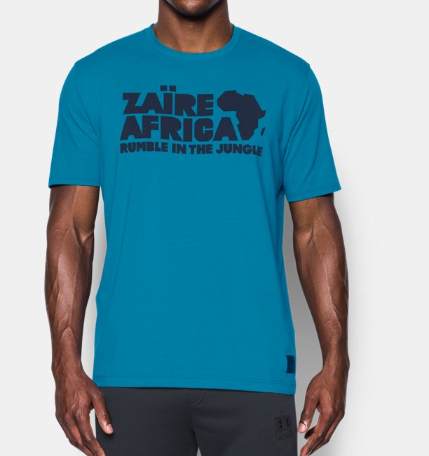 f52e8262 Under Armour Men's UA x ALI Rumble Zaire 74 T-Shirt | 1299033-982 ...