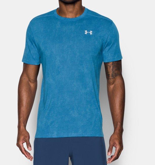 Men 39 s ua threadborne streaker short sleeve under armour uk for I run for meg shirts