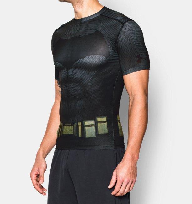 Men 39 s under armour alter ego batman compression shirt for Bulk under armour shirts