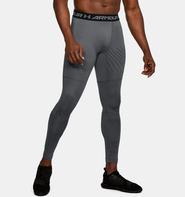 legging ua coldgear armour jacquard compression pour homme under armour fr. Black Bedroom Furniture Sets. Home Design Ideas