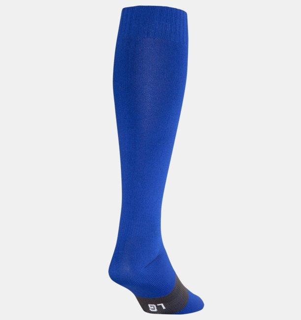Calcetas altas para fútbol color liso UA para niño
