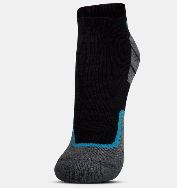 Mens UA All Season Cool Tab No Show Socks