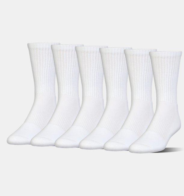 Kids UA Charged Cotton® 2.0 Crew Socks