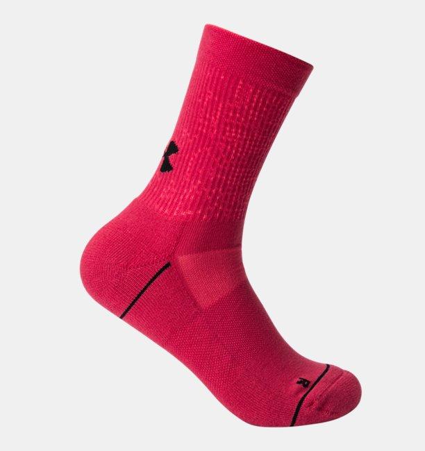 Womens UA Phenom Crew – 3-Pack Socks