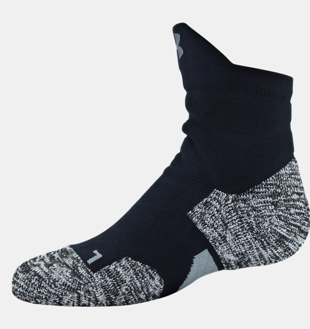 Mens UA Drive Quarter Socks