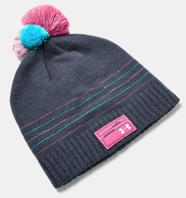 Girls UA Triple Scoop Beanie