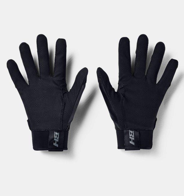 Mens UA Harper Hustle Batting Gloves