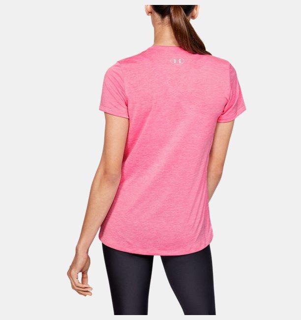 Camiseta de Treino Feminina Under Armour Tech V Neck Twist