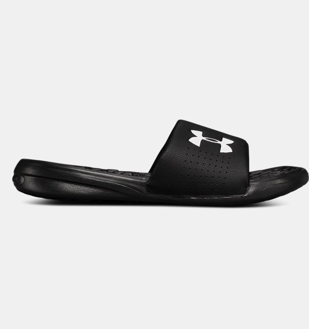 Mens UA Playmaker Fixed Strap Slides